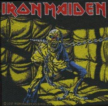 kleiner Aufnäher Iron Maiden Piece of Mind