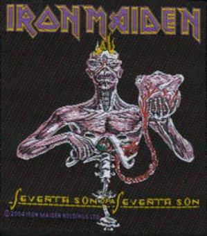 kleiner Aufnäher Iron Maiden Seventh Son