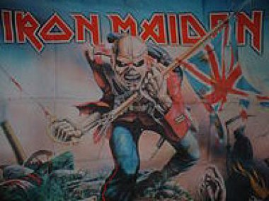 Flagge Iron Maiden The Trooper