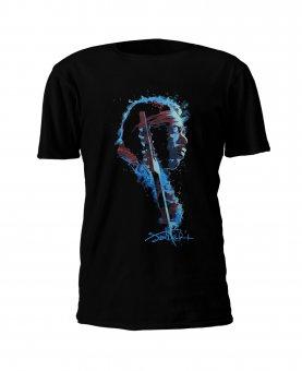T-Shirt Jimi Hendrix Watercolor Profile