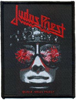 kleiner Aufnäher Judas Priest Hellbent for Leather
