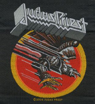 kleiner Aufnäher Judas Priest Screaming for Vegeance Album Cover