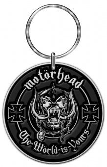 Schlüsselanhänger Motörhead The Wörld is Yours