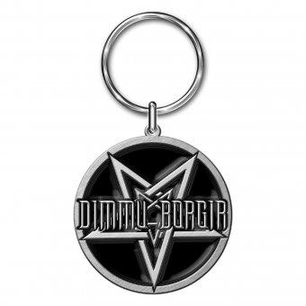 Schlüsselanhänger Dimmu Borgir Pentagram Logo