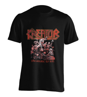 T-Shirt Kreator Pleasure to Kill