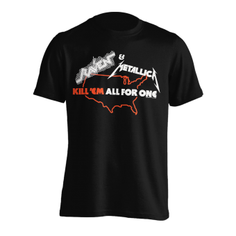T-Shirt Metallica Kill'em all for One Tour