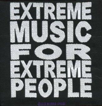 kleiner Aufnäher Morbid Angel Extreme Music........