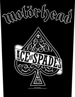 Rückenaufnäher Motörhead Ace of Spades