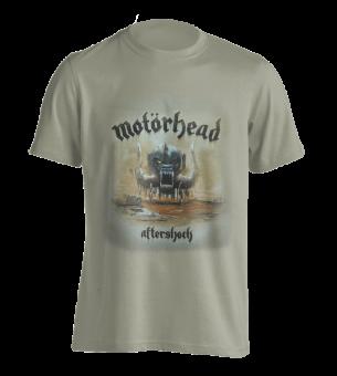 T-Shirt Motörhead Aftershock ( sandfarben ) M