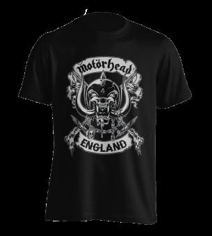 T-Shirt Motörhead Crosses Sword England