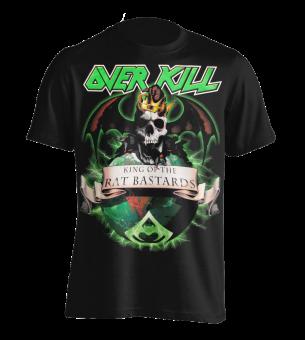 T-Shirt Overkill Rat Bastard L