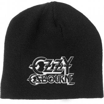 Beanie Ozzy Osbourne Black Logo