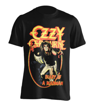 T-Shirt Ozzy Osbourne Diary of a Madman