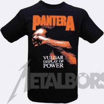 T-Shirt Pantera Vulgar Display of Power ( red )