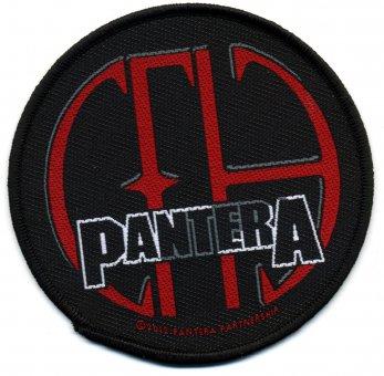 kleiner Aufnäher Pantera CFH Logo