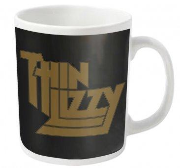 Tasse Thin Lizzy Gold Logo