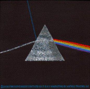 kleiner Aufnäher Pink Floyd Dark Side of the Moon