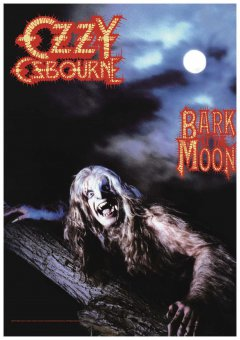 Flagge Ozzy Osbourne Bark at the Moon