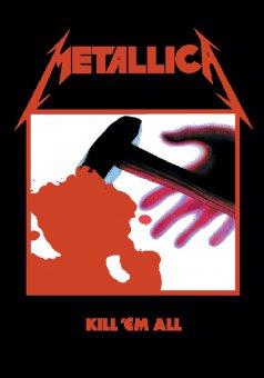 Flagge Metallica Kill 'em all
