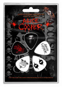Plektrum Set Alice Cooper Eyes