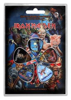 Plektrum Set Iron Maiden Classic Album Covers 2