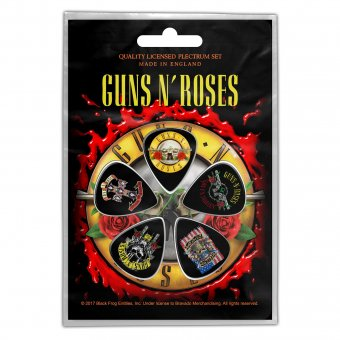 Plektrum Set Guns'n Roses Classic Logos