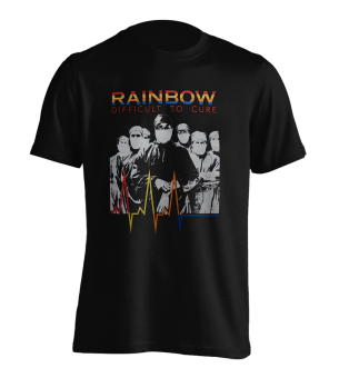 T-Shirt Rainbow Difficult to Cure