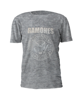 T-Shirt Ramones Presidential Seal Vintage ( grey ) M