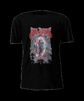 T-Shirt Rob Zombie Krampus Zombie