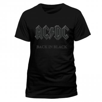 T-Shirt AC/DC Back in Black