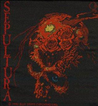 kleiner Aufnäher Sepultura Beneath the Remains