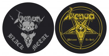 Slipmat Venom Black Metal / Welcome to Hell