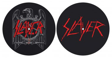 Slipmat Slayer Eagle / Logo