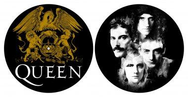 Slipmat Queen Crest