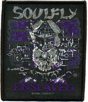 kleiner Aufnäher Soulfly Enslaved
