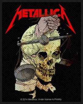 kleiner Aufnäher Metallica Harvester of Sorrow