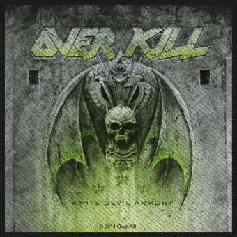kleiner Aufnäher Overkill White Devil Armory