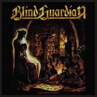 kleiner Aufnäher Blind Guardian Tales from the Twilight World