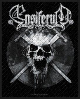 kleiner Aufnäher Ensiferum Skull