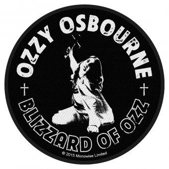 kleiner Aufnäher Ozzy Osbourne Blizzard of Ozz