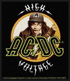 kleiner Aufnäher AC/DC High Voltage