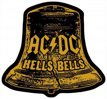 kleiner Aufnäher AC/DC Hells Bells