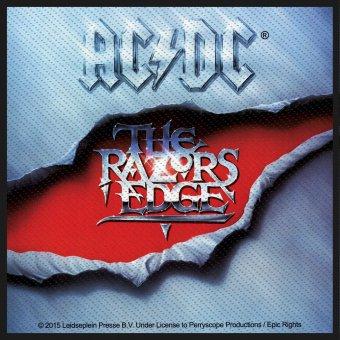 kleiner Aufnäher AC/DC The Razors Edge