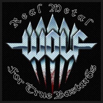 kleiner Aufnäher Wolf Logo