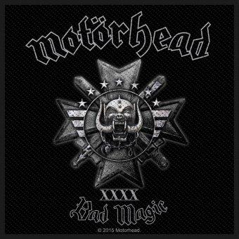 kleiner Aufnäher Motörhead Bad Magic