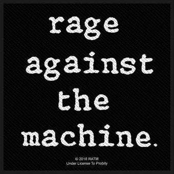 kleiner Aufnäher Rage against the Machine Logo