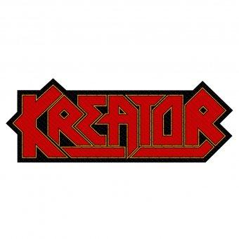 kleiner Aufnäher Kreator Logo Shape ( red )