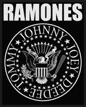 kleiner Aufnäher Ramones Classic Seal