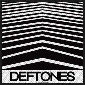 kleiner Aufnäher Deftones Abstract Lines