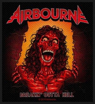 kleiner Aufnäher Airbourne Breakin' outta Hell